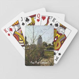 Cartes À Jouer Cartes de jeu Piney de phare de point