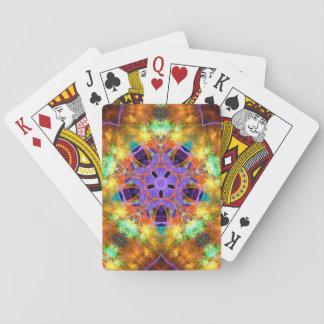 Cartes À Jouer cartes de jeu psychédéliques de kaléidoscope