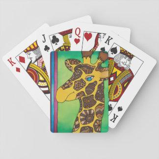 Cartes À Jouer Cartes de jeu : Série de girafe