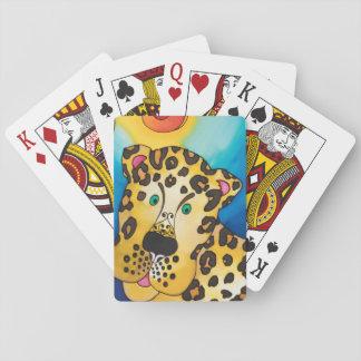 Cartes À Jouer Cartes de jeu : Série de léopard
