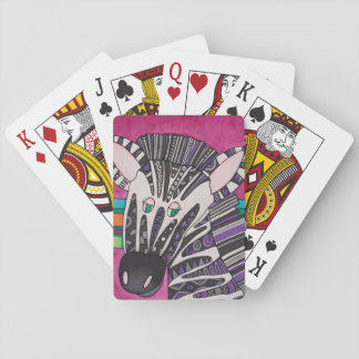 Cartes À Jouer Cartes de jeu : Série de zèbre