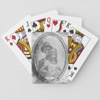 Cartes À Jouer Cartes de jeu squelettiques