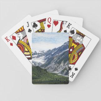Cartes À Jouer Cartes de jeu verdoyantes de montagne