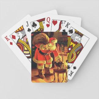 Cartes À Jouer Cartes de Noël