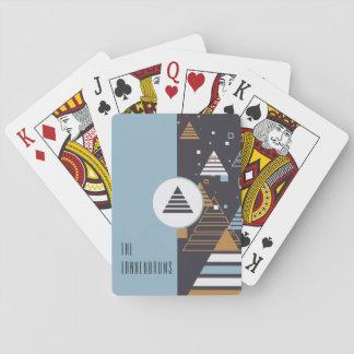 Cartes À Jouer Cartes stylistiques modernes de /Playing d'arbre
