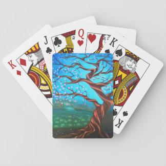 Cartes À Jouer Cerisier surréaliste fait sur commande