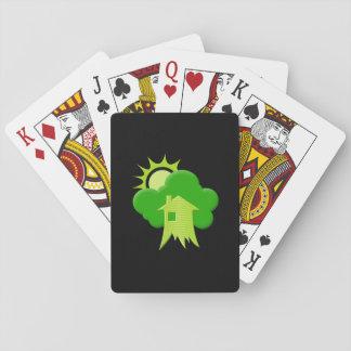 Cartes À Jouer Chambre verte