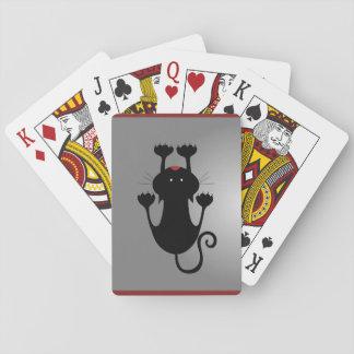 Cartes À Jouer Chaton noir