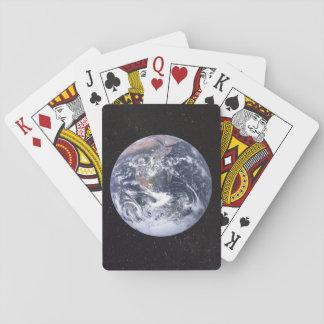 Cartes À Jouer Ciel étoilé de la terre de planète