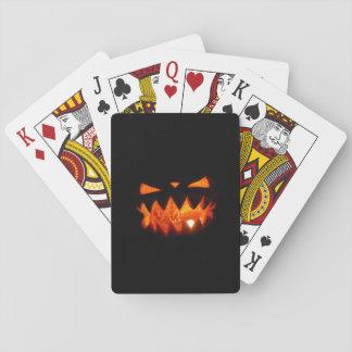 Cartes À Jouer Citrouille de Halloween