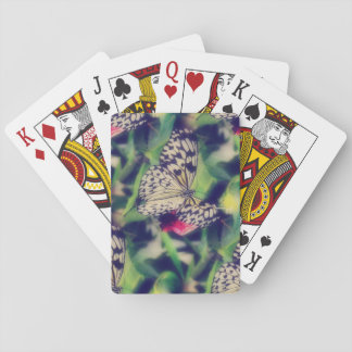 Cartes À Jouer Collage de papillon