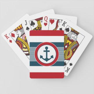 Cartes À Jouer Conception nautique