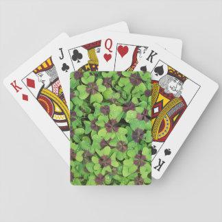 Cartes À Jouer Correction du trèfle de quatre feuilles, oseille,