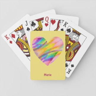 Cartes À Jouer ~ de MARIE personnalisé par ~ de motif