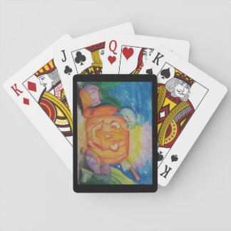 Cartes À Jouer Dragonween heureux