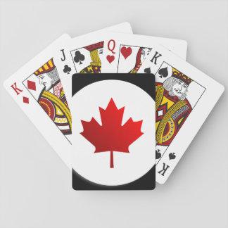 Cartes À Jouer drapeau du Canada