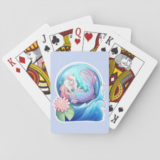 Cartes À Jouer En mer