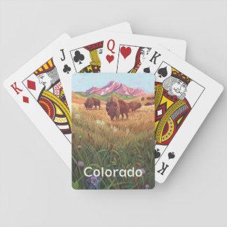 Cartes À Jouer État de cartes de jeu du Colorado