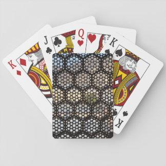 Cartes À Jouer Fenêtre géométrique de trellis, Inde