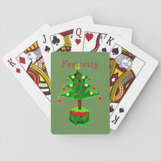 Cartes À Jouer Festivité