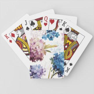 Cartes À Jouer Fleurs colorées de ressort