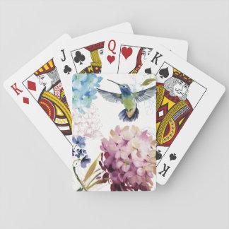 Cartes À Jouer Fleurs de ressort