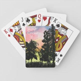 Cartes À Jouer Fondateurs collection, cartes de jeu d'art