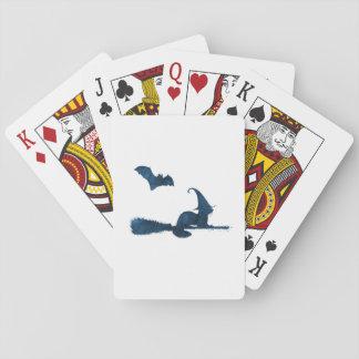 Cartes À Jouer Furet effrayant de sorcière