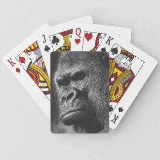 Cartes À Jouer Gorille masculin