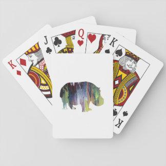 Cartes À Jouer Hippopotame