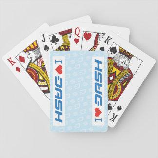 Cartes À Jouer I cartes de TIRET de coeur