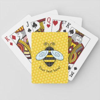 Cartes À Jouer Icône de ronflement de bourdon et de nid