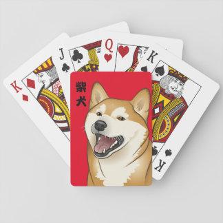 Cartes À Jouer kanji de Japonais de cartes de jeu de chien de