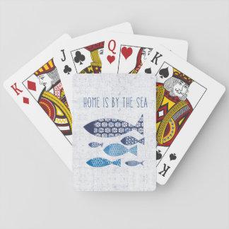 Cartes À Jouer La maison côtière de l'art | est par la mer