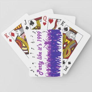 Cartes À Jouer La partie comme elle est 1999® - cartes de jeu -