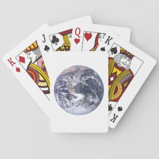 Cartes À Jouer La terre de planète du jour de la terre de