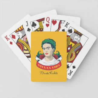 Cartes À Jouer La Vida de vivats de Frida Kahlo |