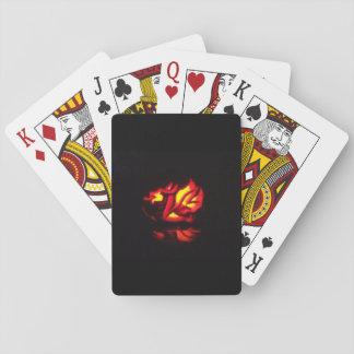Cartes À Jouer Lanterne de Gallois Halloween