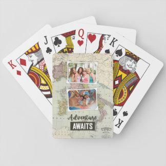 Cartes À Jouer L'aventure attend le téléchargement de la carte |