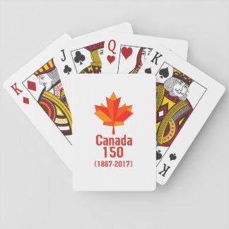 Cartes À Jouer Le CANADA heureux 150 ans de cool canadien de