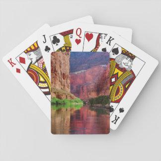 Cartes À Jouer Le fleuve Colorado en canyon grand, AZ