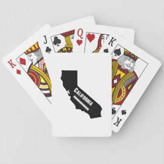 Cartes À Jouer Le football de carte de la Californie