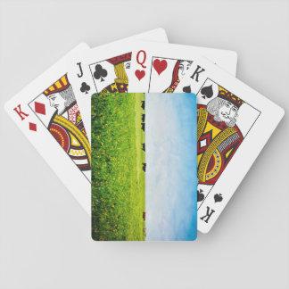 """Cartes À Jouer Les cartes de jeu """"jusqu'aux vaches viennent à la"""