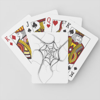 Cartes À Jouer Les cartes de jeu standard d'index soustraient la