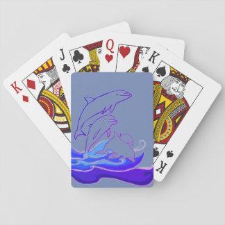Cartes À Jouer Les dauphins sautant les cartes de jeu classiques