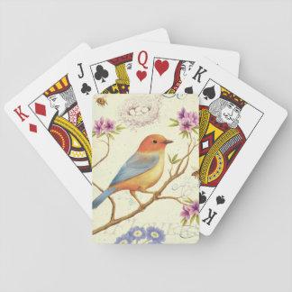 Cartes À Jouer Les oiseaux et les abeilles