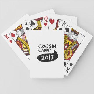 Cartes À Jouer Les Réunions de famille pour le camp de
