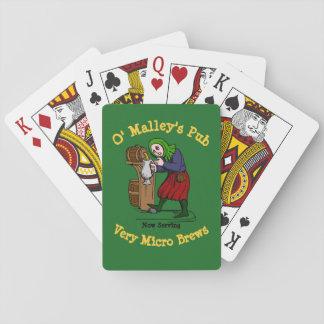 Cartes À Jouer Logo à la maison personnalisé de Pub de brasseur