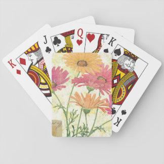 Cartes À Jouer Marguerites décoratives
