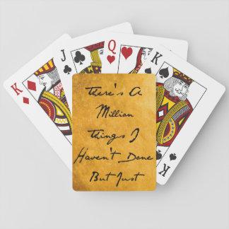 Cartes À Jouer Million de choses